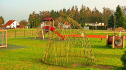 Vrbové teepee - týpí z živé vrby