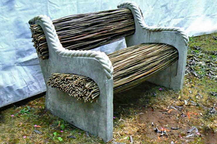 Proutěný nábytek trochu jinak