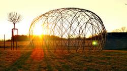 Vrbové iglú - igloo z živé vrby