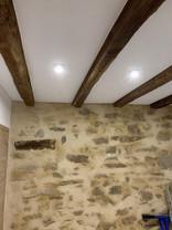 Plafond Tendu entre-poutres starlak