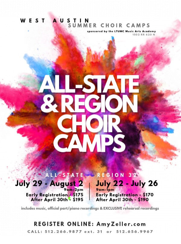 Region Choir Summer Camp