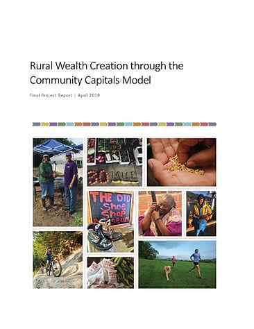 USDA Community Capitals Hub project fina