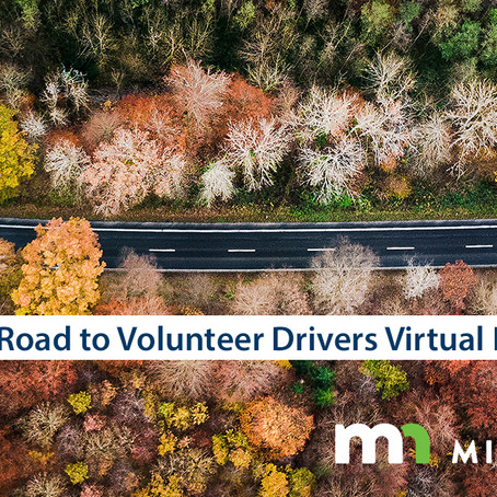 Registration open for Minnesota's Road to Volunteer Drivers, a series of free virtual forums