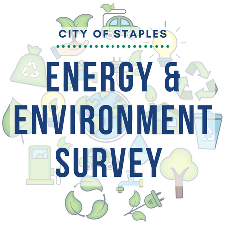 City of Staples Launches Energy & Environment Planning Survey