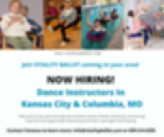 NEW Dance Teaching Position Opening In K