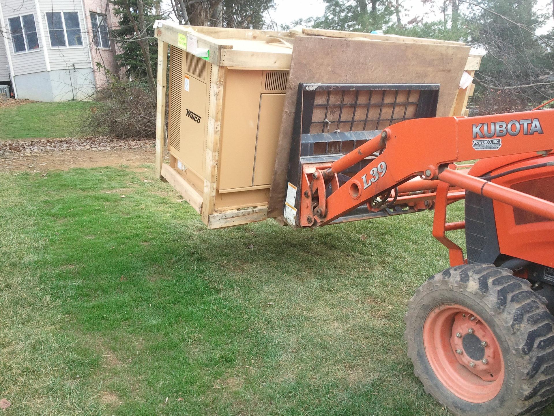 Lifting 30 Kw Generator