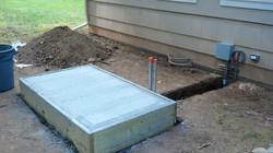 Freshly Poured Concrete Generator Pa