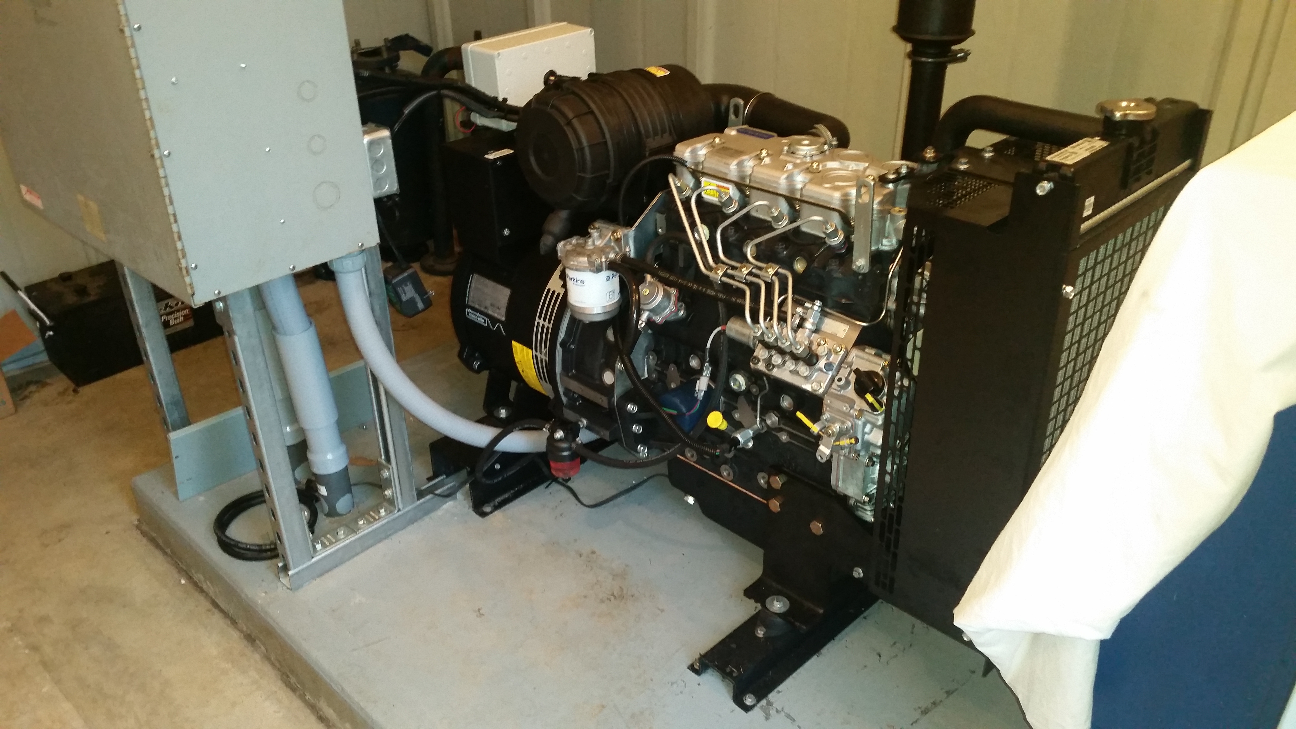 New Diesal Generator