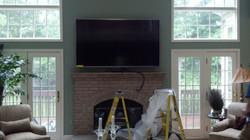 """New 80"""" TV Install"""