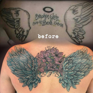 Cover Up Tattoo Number 2
