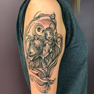 Black And Grey Tattoo Number 3