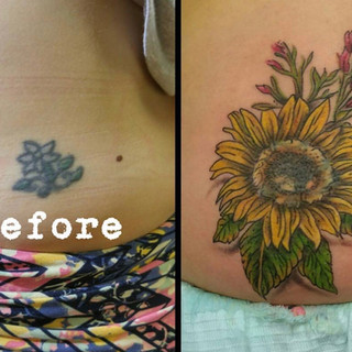 Cover Up Tattoo Number 1