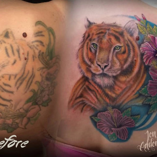 Cover Up Tattoo Number 4