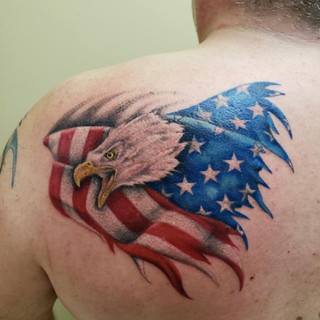 Color Tattoo Number 6