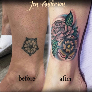 Cover Up Tattoo Number 3