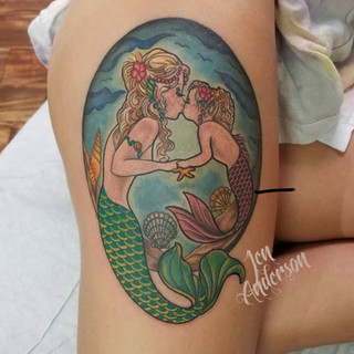 Color Tattoo Number 5
