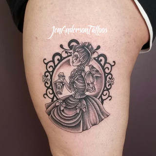 Black And Grey Tattoo Number 4