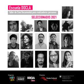 Conoce a los seleccionados de la primera #EscuelaDOCLA en Perú