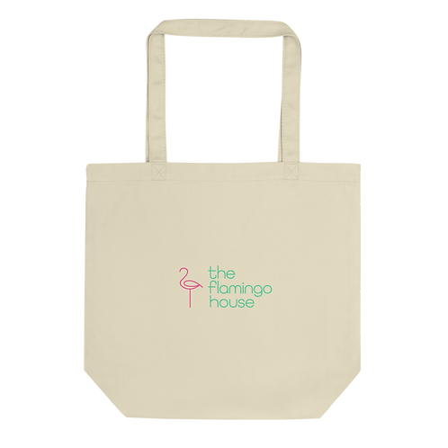 The Flamingo House Eco Tote