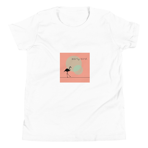 Early Bird Youth Comfy Short Sleeve T-Shirt