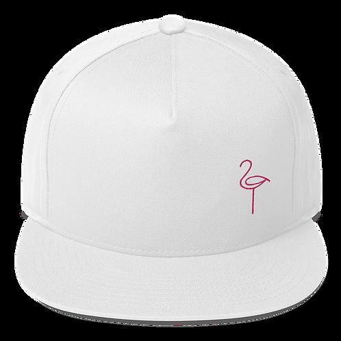 Flat Bill Flamingo Cap