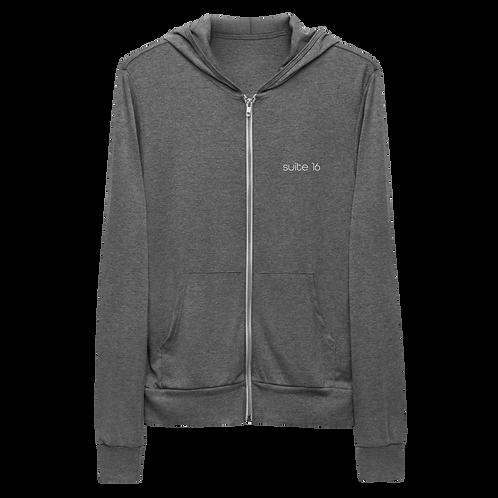 Suite 16 Workleisure wear Unisex zip hoodie