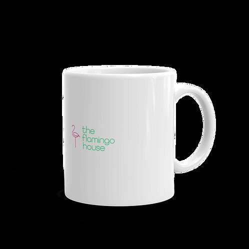 The Flamingo House Mug