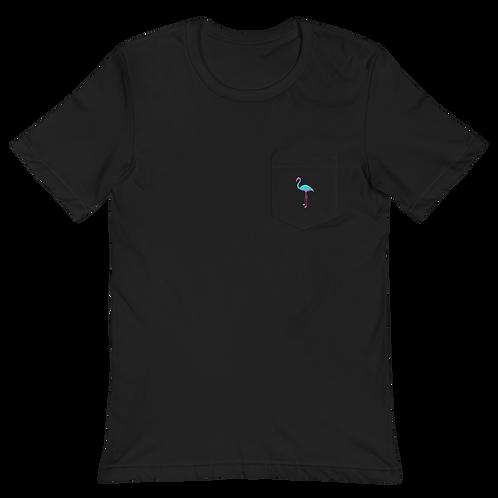 Flamingo in your pocket Unisex T-Shirt