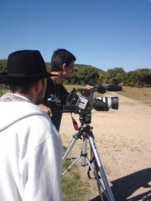 Shooting of the film Vallenegro