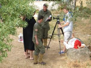 Shooting of the film Subb Niggurath