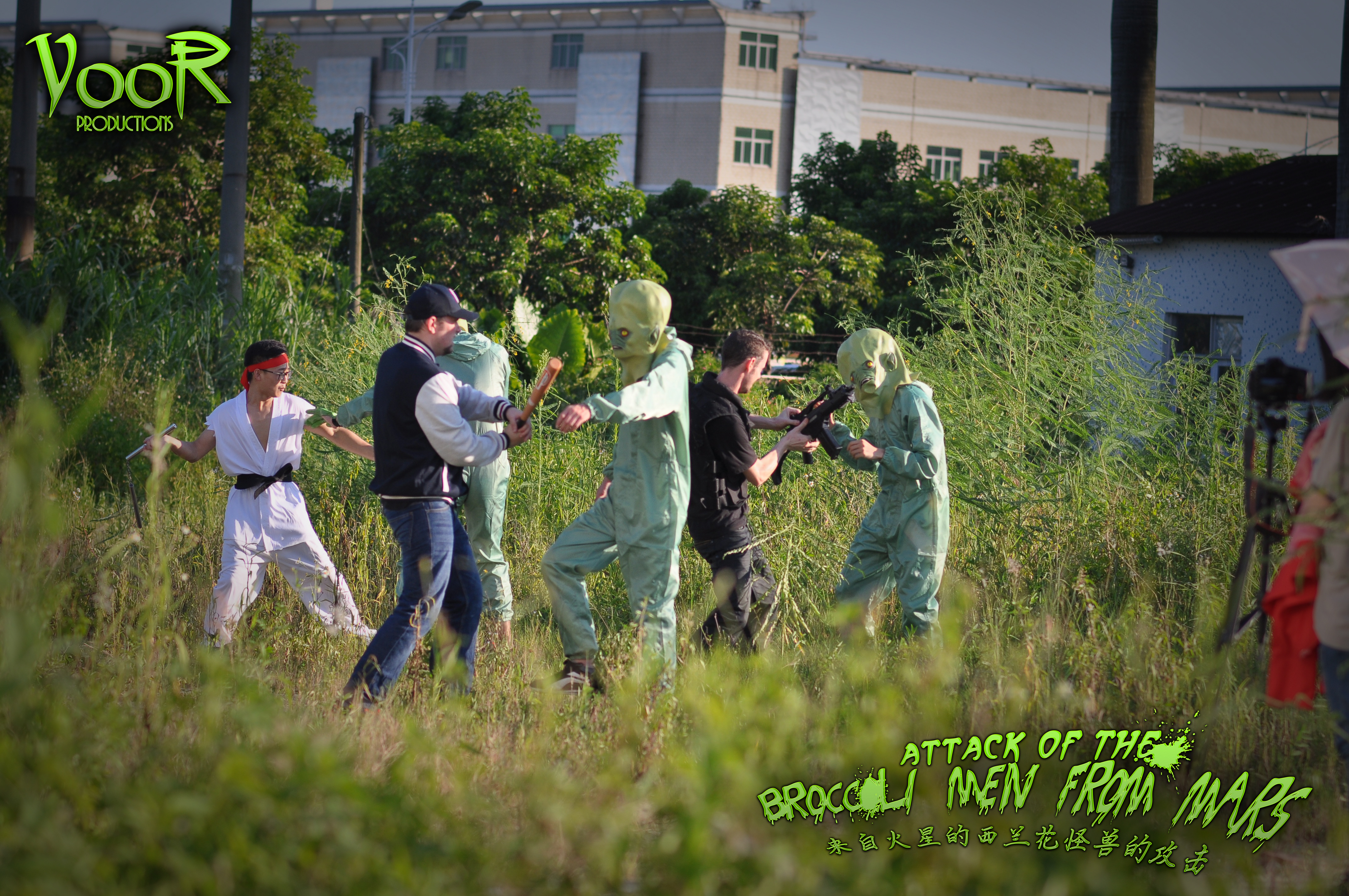 Attack of the Broccoli Men from Mars