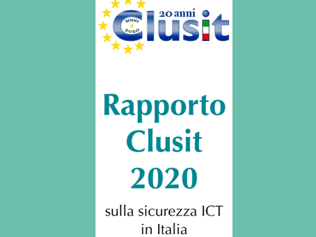 Rapporto Clusit 2020
