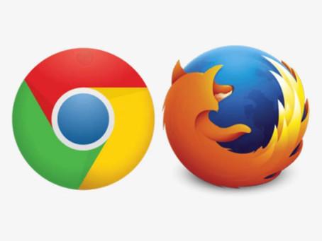 Nuovi aggiornamenti per Mozilla Firefox e Google Chrome