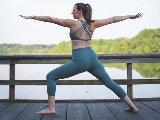 Yoga Basics:  Warrior II