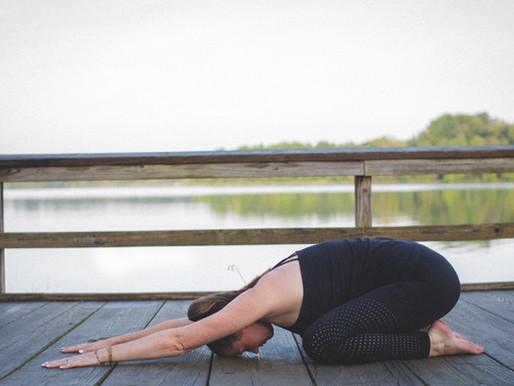 Yoga Basics:  Child's Pose