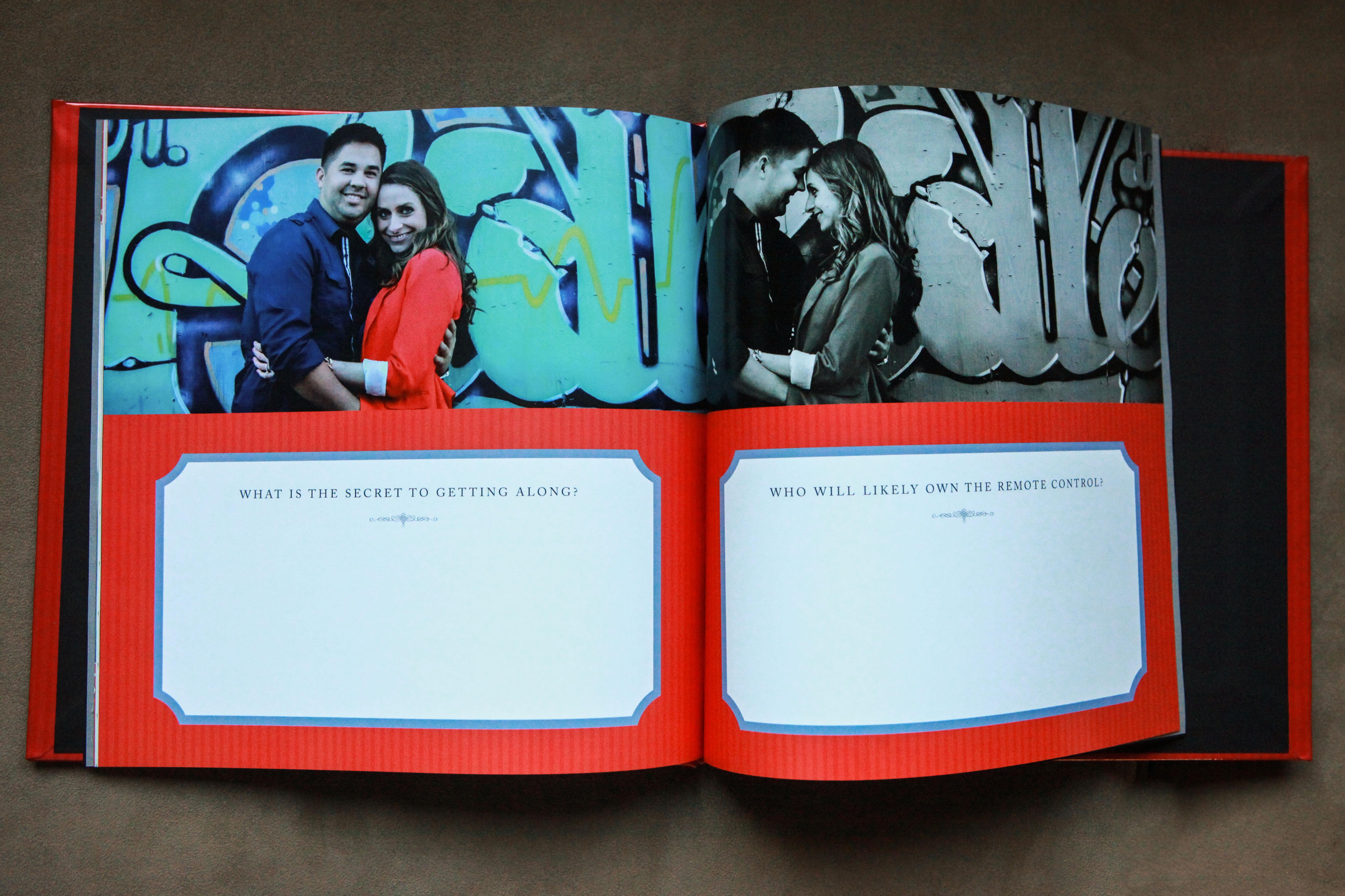 Guest Signature Book - Inside