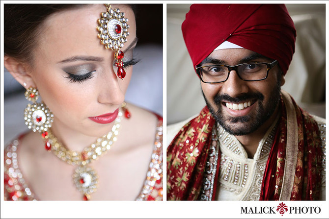 Amanda and Navaj - Indian Wedding - Day two