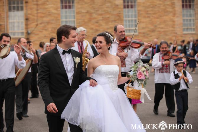 Julie & Yevhen's Wedding