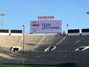 Team Laeft Hand Brewing at the Rose Bowl!
