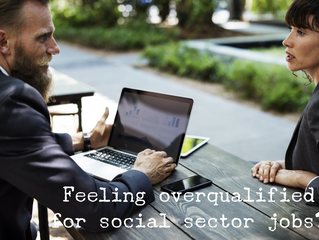 Switching Sectors? You may be (or appear to be) overqualified.