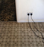 Commercial carpet cleaning cumbria,before and after carpet cleaning.