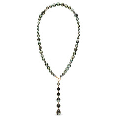 little h - tahitian pearl and black diam