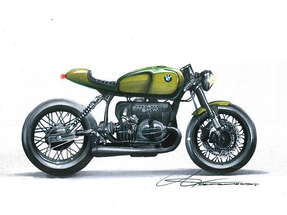 BMW Cafe racer concept
