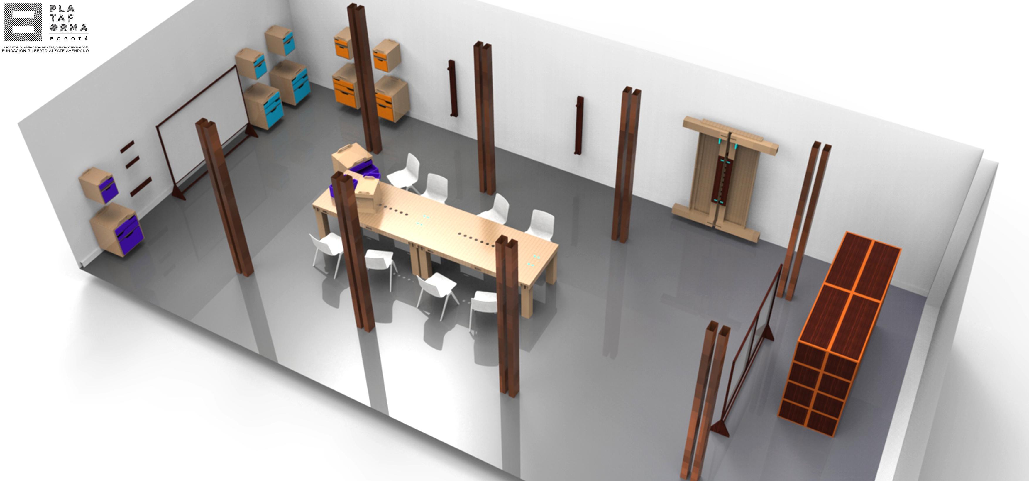 LAB de diseño de mobiliario abierto