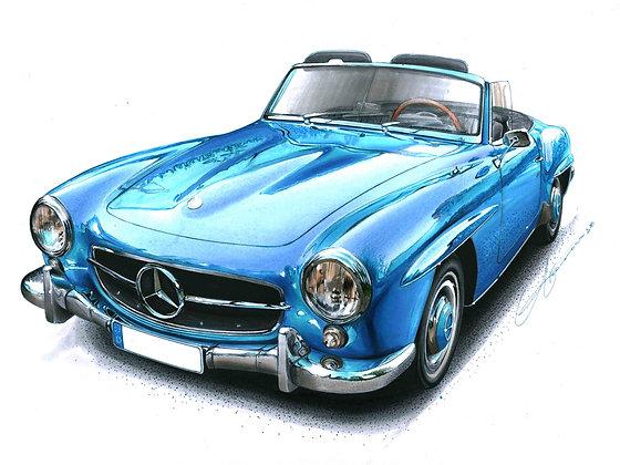 Mercedes benz 190 sl 1955