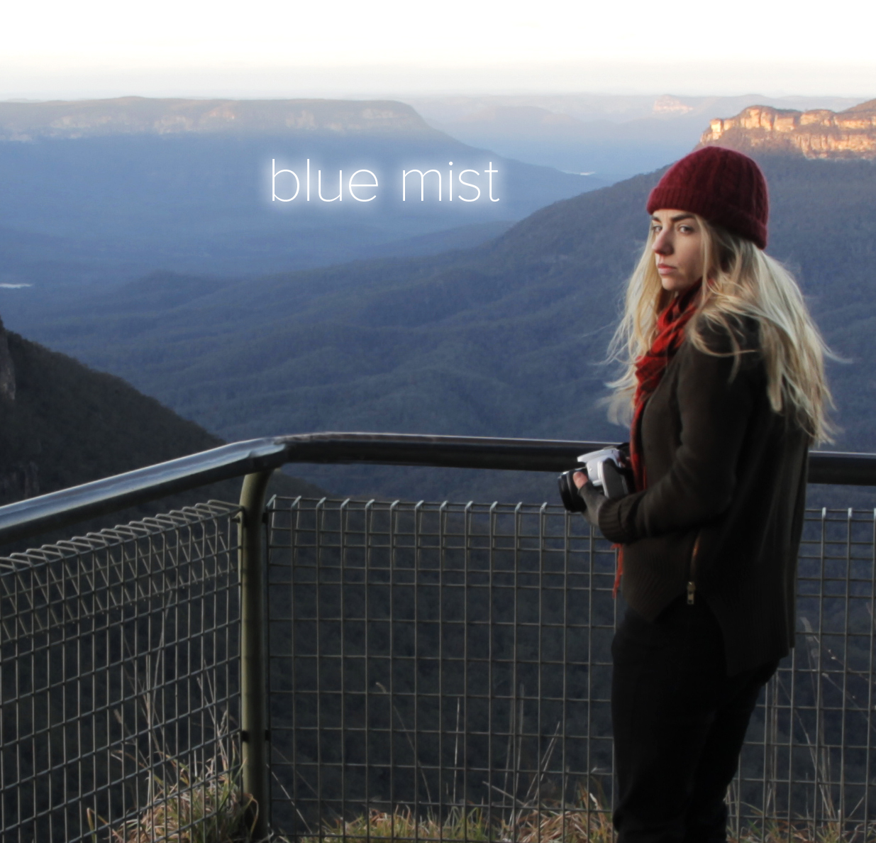 Blue Mist Poster Photo