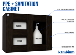 Keep Your Workplace Safe With A PPE & Sanitation Station