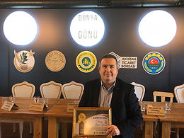 The first GOLD Award of the year is again from Akhisar World Olive Harvest Competition