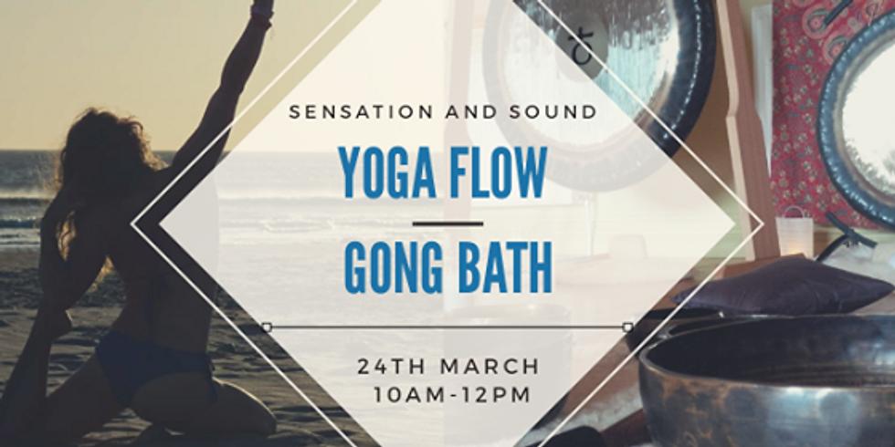 Sensation and Sound Yoga Flow & Gong Bath