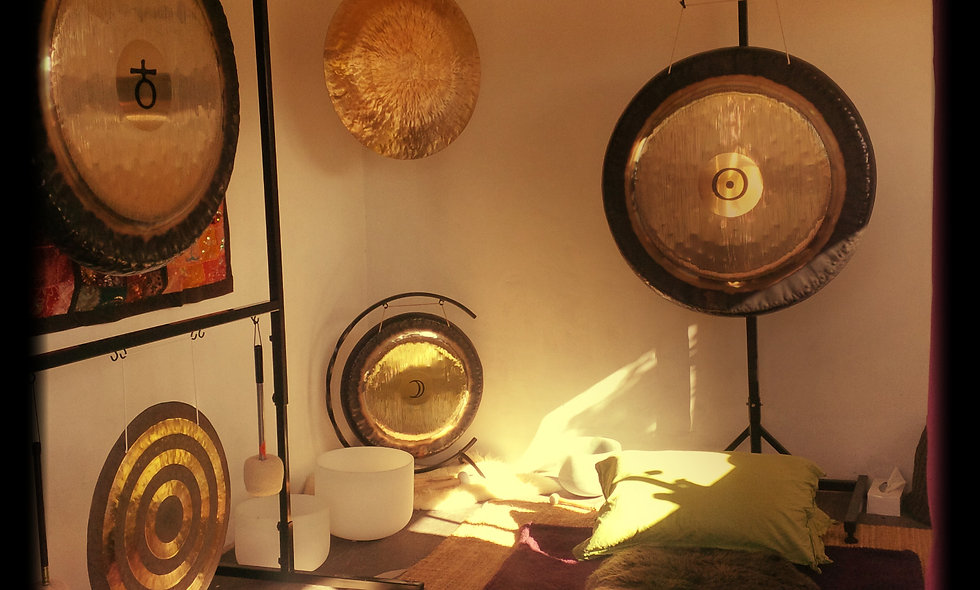 Gong Bath for one Gift Voucher